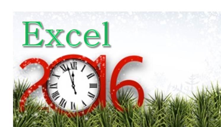 EXCEL 2016 קורס